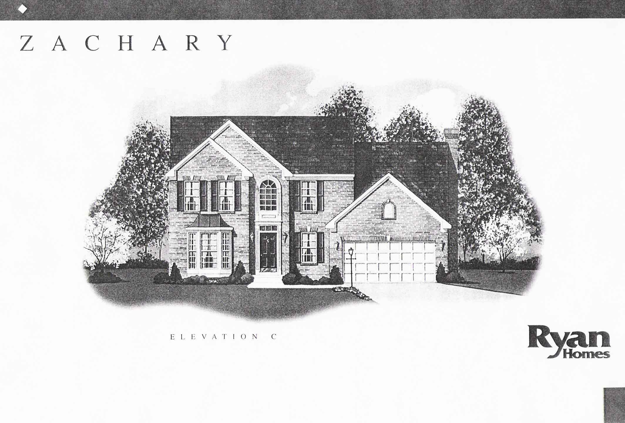Ryan homes zachary place floor plan House design plans